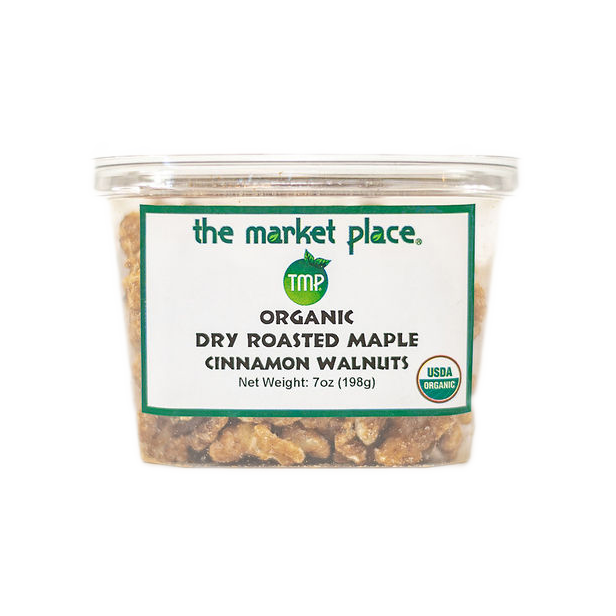 Organic Dry Roasted Maple Cinnamon Walnuts