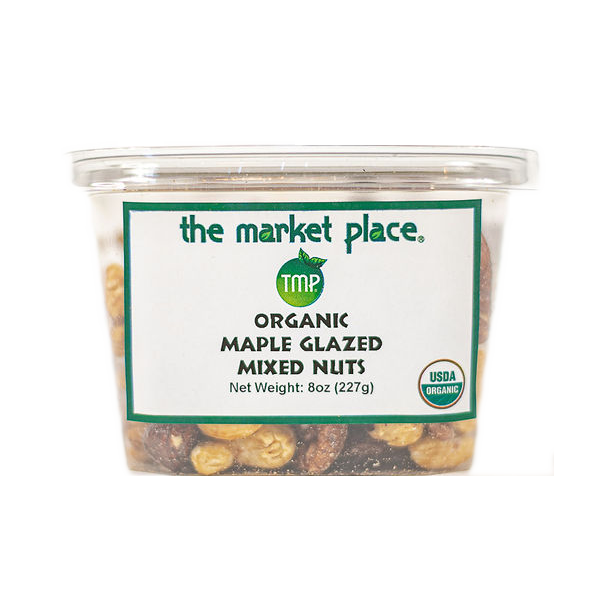 Organic Maple Glazed Mixed Nuts