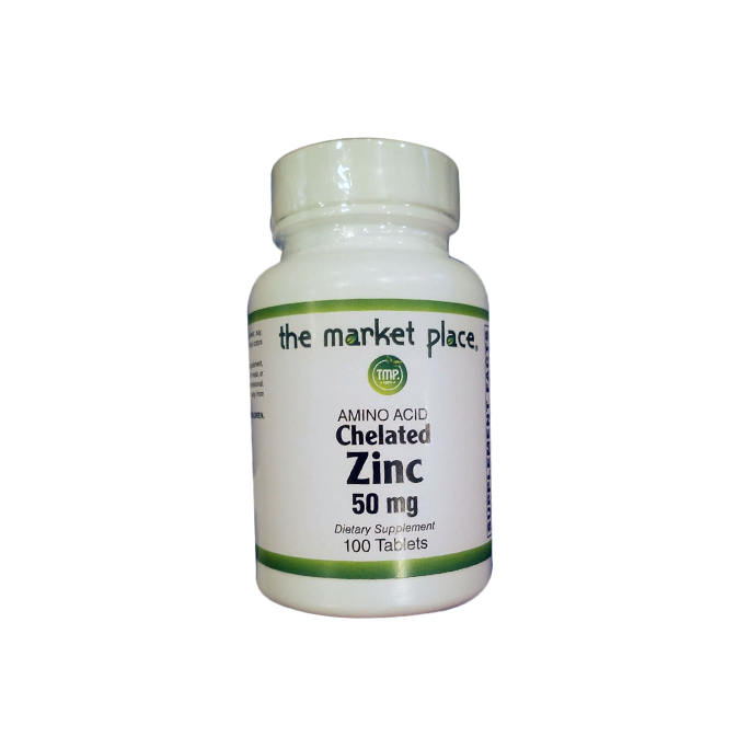Amino Acid Chelated Zinc 50 mg
