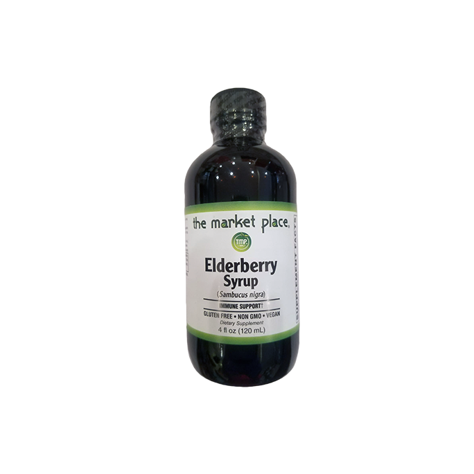 Organic Liquid Elderberry Extract 4 oz.
