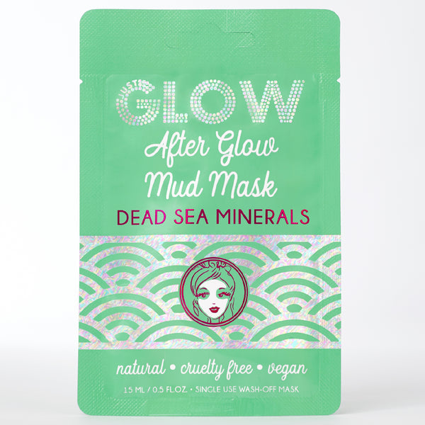 Just Glow, After Glow Mud Mask, Dead Sea Minerals, Wash-Off Mask