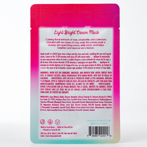 Light Bright Cream Mask: Rose