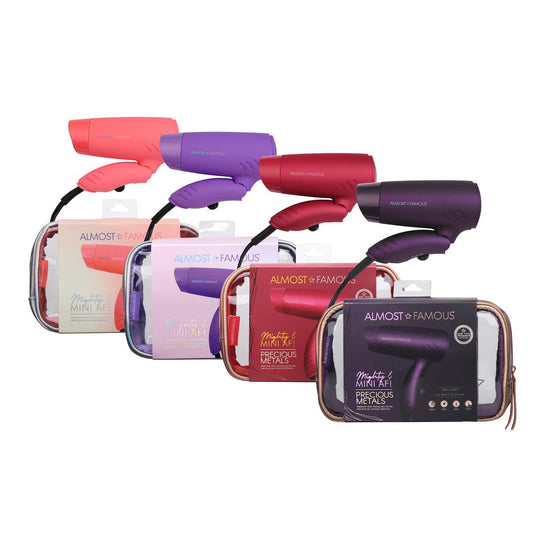 Mighty AF Mini Travel Dryer with Holotone Carrying Bag