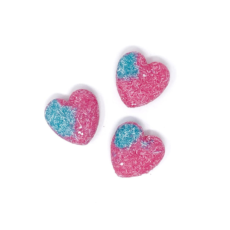 Cotton Candy Heart Shampoo + Conditioner Bar