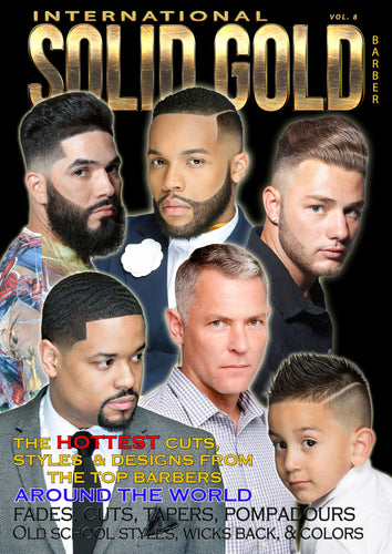 Solid Gold Barber Magazine vol 8