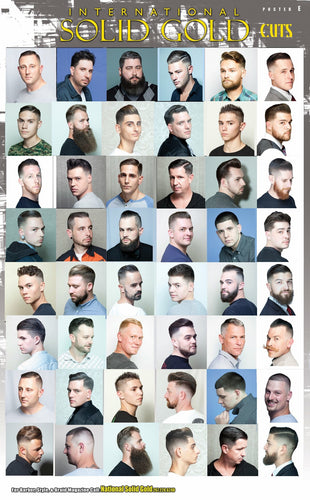 Solid Gold Barber Poster E