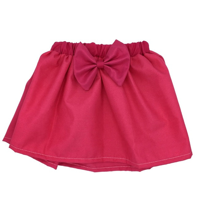 Baby Mini Girl Cute Skirt with Bow