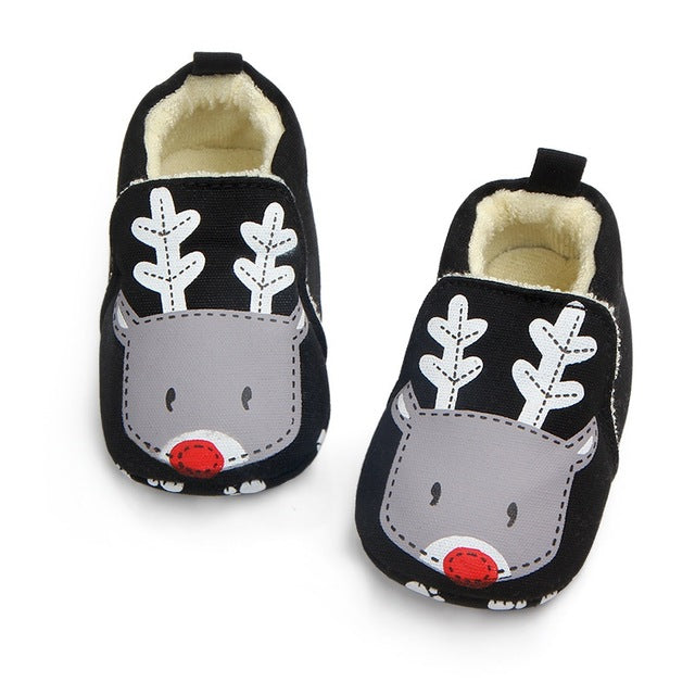 Baby Girl Boys Cartoon Soft Bottom Cotton Shoes