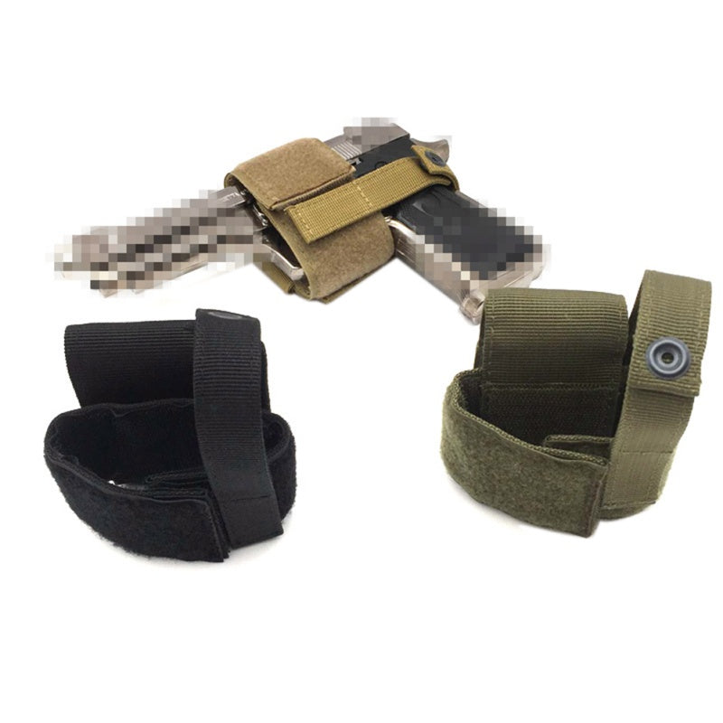 New Combat Airsoft Simple Hook & Loop Pistol Holster Gun Supplies Tactical Gun Holster Patch Modular Pistol Holster