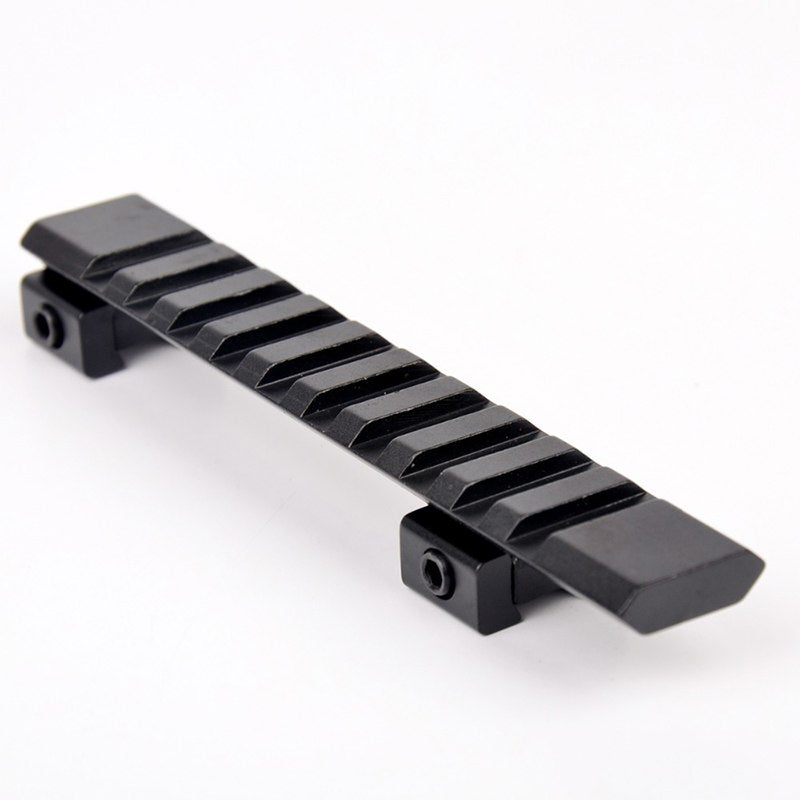 New 11mm Hunting Rail Mount Picatinny Rail With 10 Slots And 124mm Length Hunting Rifle/Air Gun Weaver Hunting Scope Mount