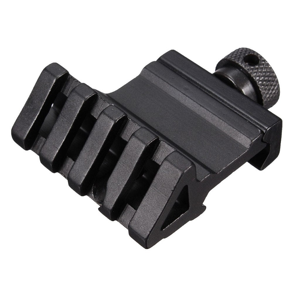4 Slot 45 Degree Angle Offset Fit 20mm Rail Mount Quick Release Aluminium Alloy Hunting Accessories CY1