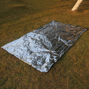 Emergency Blanket Portable Outdoor Rescue and Survival Camping Life-saving Carpet