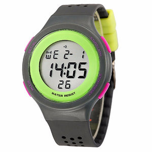 Digital Multifunction Waterproof Boys Girl Electronic Wrist Sport Watch