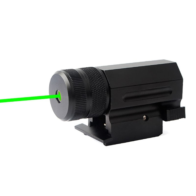 Hunting Power Green Dot Laser Sight Collimator QD 20mm Rail Mount for Pistol and Airsoft Rifle Glock 17 19 22