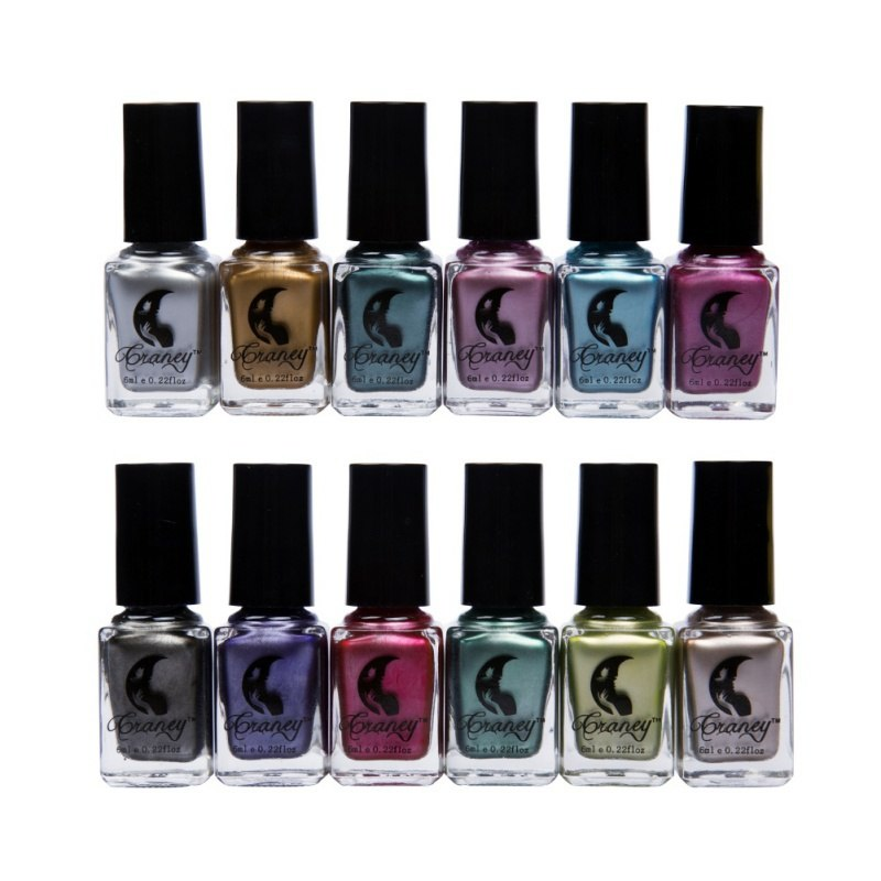 6 ml Metallic Nail Polish Mirror Oil Gel Varnishes