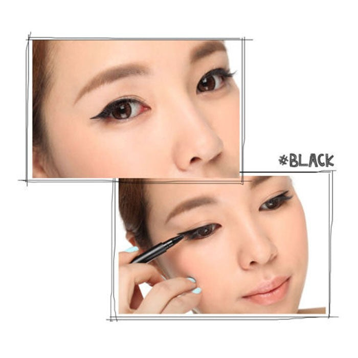 HUAMIANL Black Waterproof Liquid Eyeliner Pen