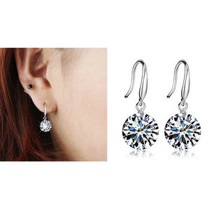 Elegant Crystal Rhinestone Earrings Drop Earrings