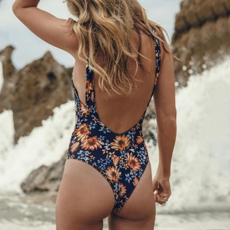 Sexy Women's One Piece Swimsuit