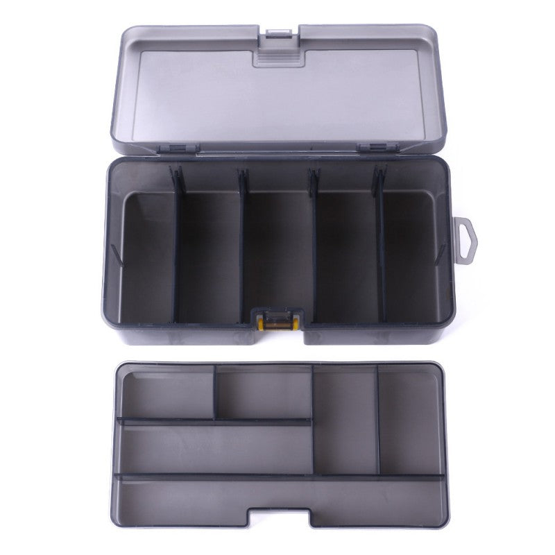 Double Layer 5 +6 Grid Fishing Tackle Box