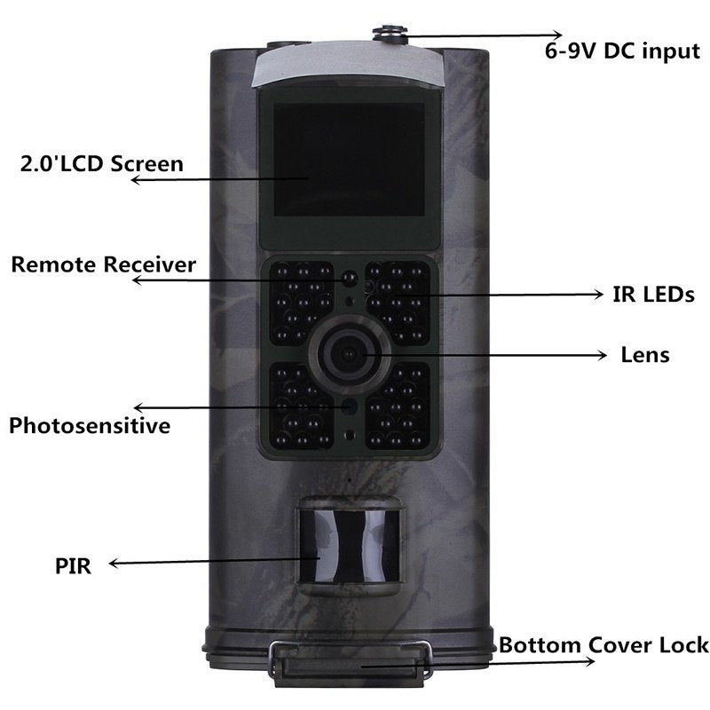 HC-700A New Arrived Multifunctional Outdoor Network Monitor Camera Waterproof Night Vision Hunting Camera