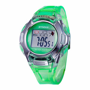 Boy's Girl's Relojes LED Multifunction Waterproof Relogio Children Sport Watch