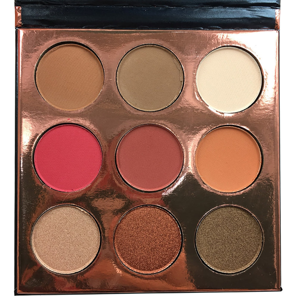 9 Colors  Matte Eyeshadow Palette