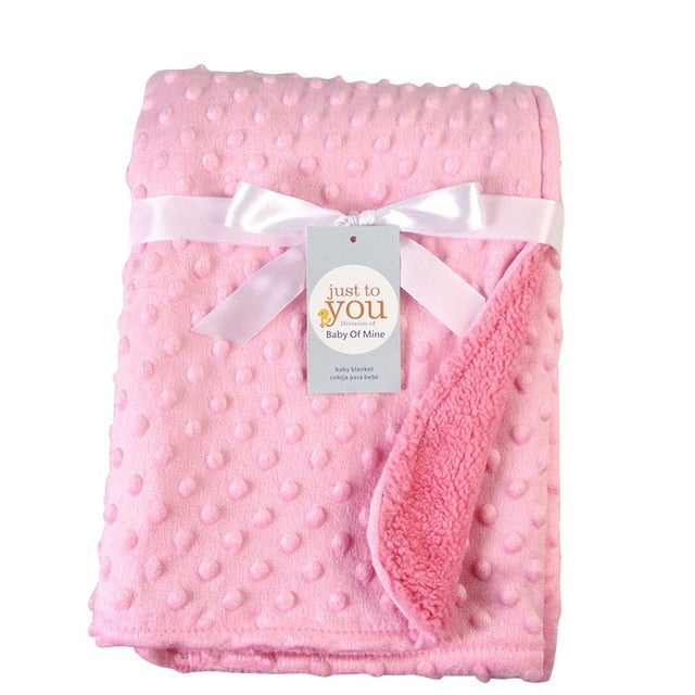 Baby Swaddling Fleece Blanket Bedding