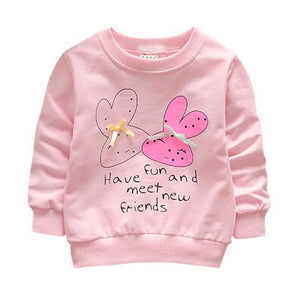 Toddler Girls Cotton Clothing Winter Bottoming Shirts