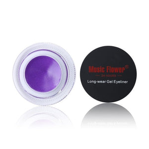 Waterproof Eyeliner Gel With Brush