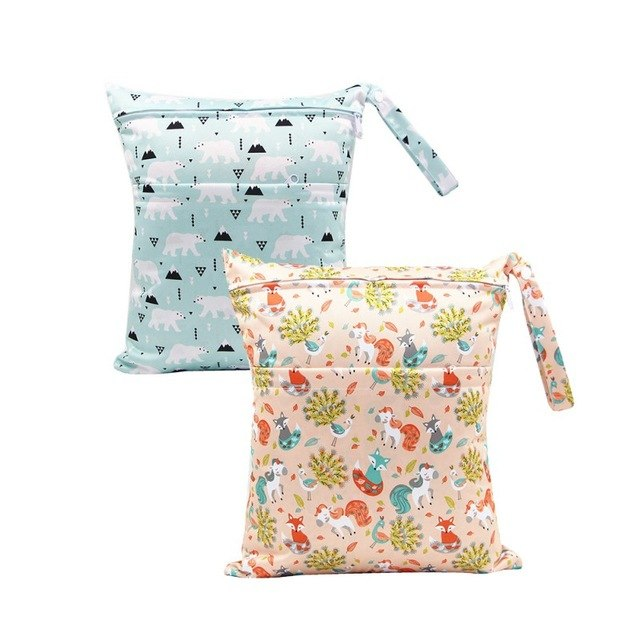 Baby Cloth Diaper Bag Reusable Mummy Bag