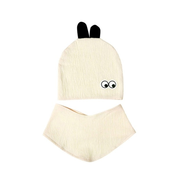 Baby Winter Sweet Accessories Set (Hat+Bibs)