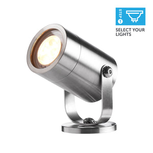 STAINLESS STEEL SPOTLIGHT<br>NEW – ELLUMIERE 12V