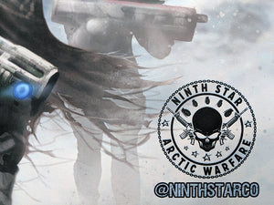 Ninth Star Arctic Warfare XL Desk Mat