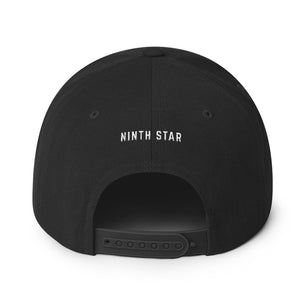 Ninth Star Wool Blend Embroidered Snapback Hat