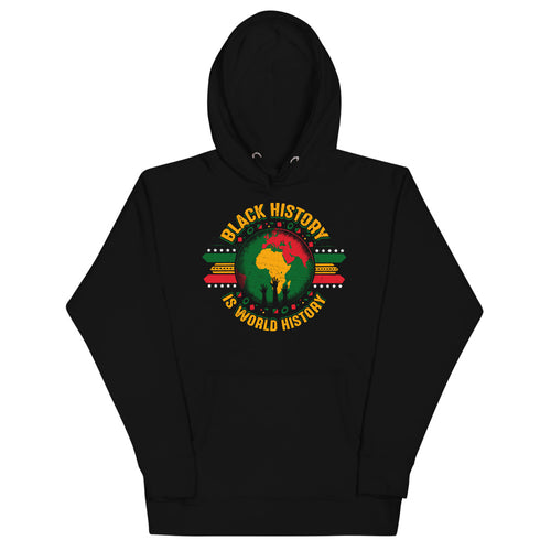 Black History is World History Premium Unisex Hoodie
