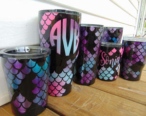 Mermaid Scale Tumbler