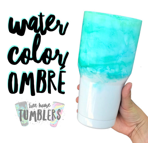 Dipped Water Color Tumbler