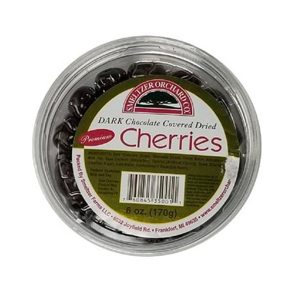 Dark Chocolate Covered Dried Cherries