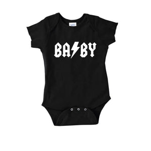 Black BA/BY Bodysuit