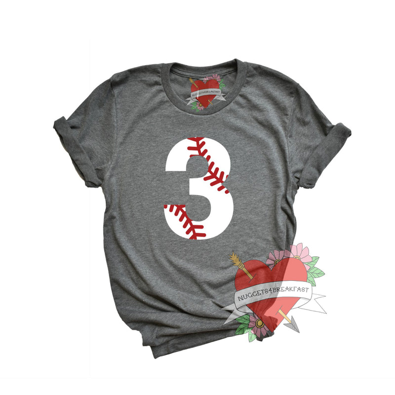 Baseball Number- Adult