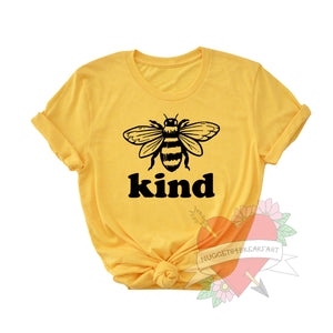 Bee Kind Adult Shirt
