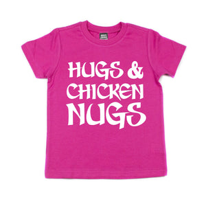 Pink Hugs & Chicken Nugs Shirt