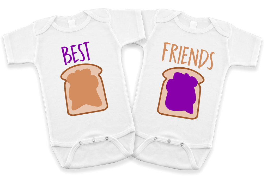 PB&J Best Friends Bodysuit