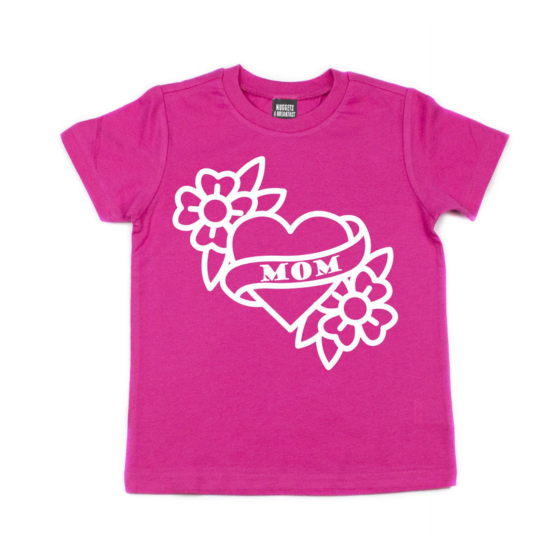 Pink Mom Tattoo Shirt