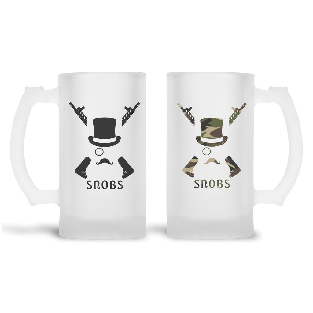 SNOBS Frosted Beer Stein