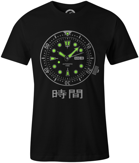 Glow in the dark shirt | Mechanical Watch Shirt - MBP Prints