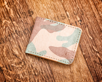 The Seven Fold Wallet | Natural Ghost Camo