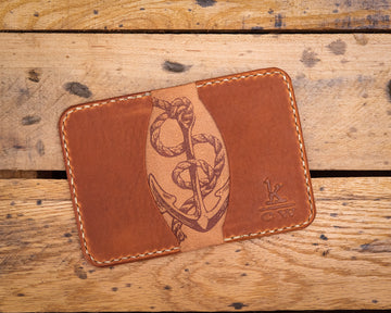 Horween English Dublin Card Holder Wallet