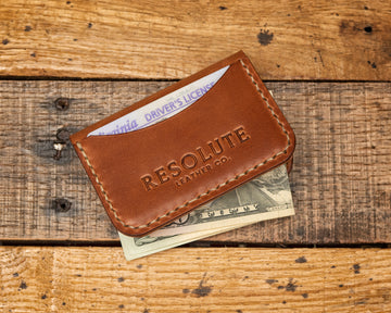 Duke St Leather Card Holder Wallet | Buck Brown