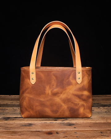 Digby Leather Tote | English Tan